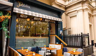 Exterior shot of Publiq restaurant