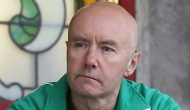 EDINBURGH, SCOTLAND - AUGUST 31:Author Irvine Welsh poses at the Dominion Theatre as he returns for an exclusive screening of 'Trainspotting' on August 31, 2010 in Edinburgh, Scotland. Trains