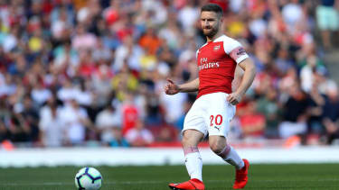 Arsenal signed German defender Shkodran Mustafi from Valencia in 2016