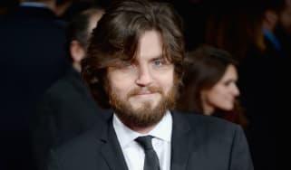 Actor Tom Burke attends premiere in London.