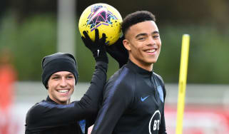 England internationals Phil Foden and Mason Greenwood