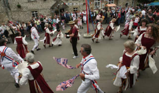 Morris dancers on May Day