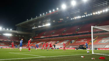 Mason Mount scored Chelsea's winner against Liverpool at Anfield (Phil Noble/Pool/AFP via Getty Images)