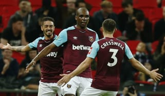 West Ham United Tottenham Angelo Ogbonna