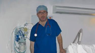 Self-Portrait as Surgeon: aesthetically vapid