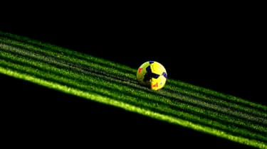 A premier league football.