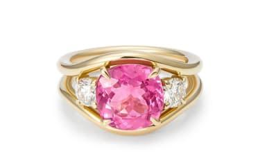 Minka pink ring