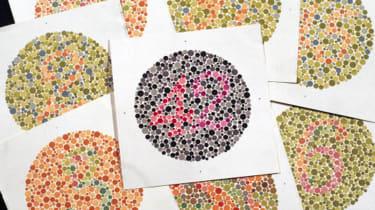Ishihara colour plates