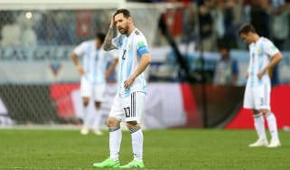Lionel Messi Argentina 2018 World Cup