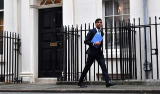 Rishi Sunak leaves 11 Downing Street