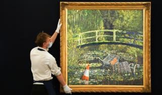 Show me the Monet by Banksy will go for auction at Sotheby's