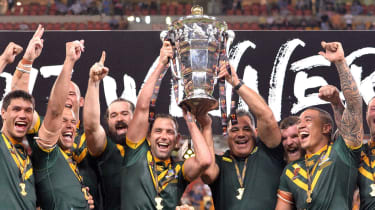 Australia 2017 Rugby League World Cup winners
