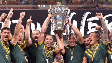 Australia beat England 6-0 in the 2017 Rugby League World Cup final