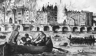 London Bridge, Fire