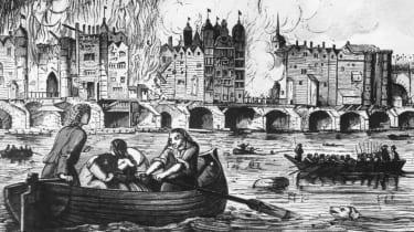 London Bridge, Fire