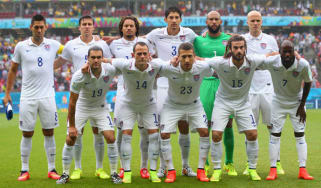 USA football squad