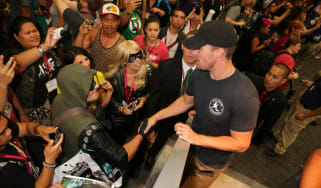 Stephen Amell at Comic-Con