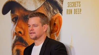 Matt Damon at the Stillwater premiere