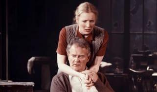 Hugh Bonneville with co-star Alice Orr-Ewing
