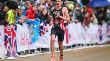 Olympic triathlon champion Alistair Brownlee