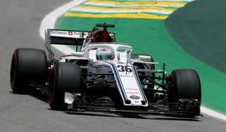 Antonio Giovinazzi and Kimi Raikkonen will line up on the grid for Sauber in 2019