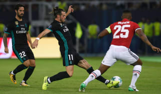 Gareth Bale Real Madrid vs Man United