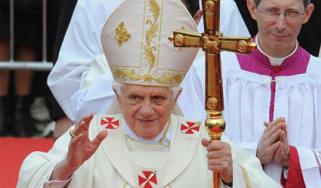 Pope Benedict in Malta