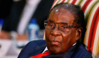 Robert Mugabe has removed vice president Emmerson Mnangagwa from office