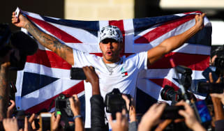 Lewis Hamilton sealed his sixth F1 world title after finishing second at the 2019 US Grand Prix