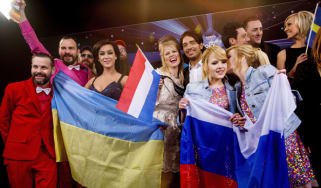 Winners of the first semi-final for the Eurovision Song Contest 2014,