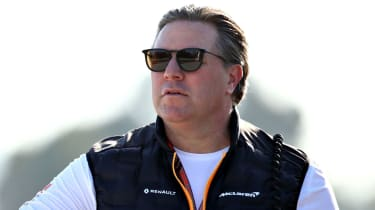 Zak Brown is the chief executive officer of McLaren Racing