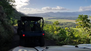 A three-hour tour of Kipu ranch takes in forests, valleys and mountains