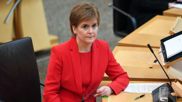 Nicola Sturgeon appears at First Minister's Questions