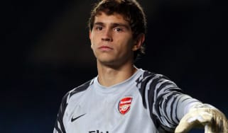 Emiliano Martinez of Arsenal