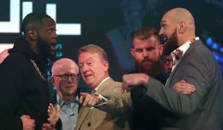 Deontay Wilder vs. Tyson Fury boxing 1 December
