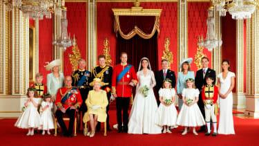 Kate Middleton Prince William wedding photo