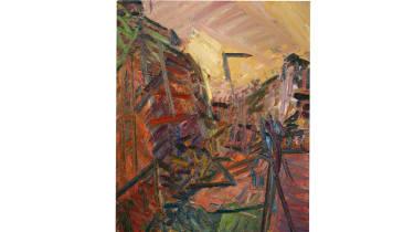 Frank Auerbach: Mornington Crescent - Winter Morning 1989
