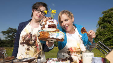 Great British Bake Off hosts Mel and Sue GBBO