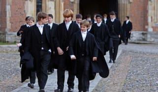 Eton College students