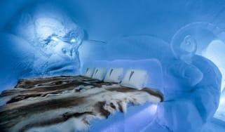 Art suite - King KongLkhagvadorj Dorjsuren ICEHOTEL 28Photo by - Asaf Kliger