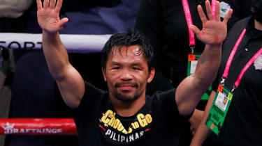 Manny Pacquiao lost to Yordenis Ugas in the final fight of his career