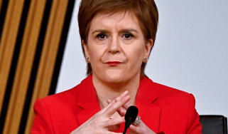 Nicola Sturgeon gives evidence to a Scottish Parliament committee
