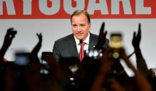 Outgoing Swedish Prime Minister Stefan Löfven
