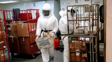 Pentagon officials screen packages suspected of containing ricin sent to Trump and other officials