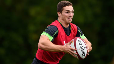 George North has won 91 international caps for Wales