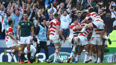 Japan v South Africa Rugby World Cup