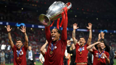 Virgil van Dijk won the Uefa Champions League with Liverpool this year