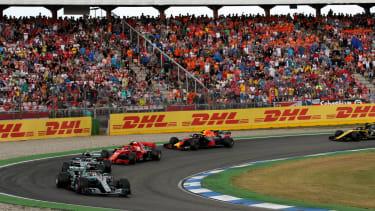 F1 2019 calendar Hockenheim German GP