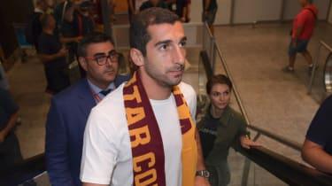 Henrikh Mkhitaryan has signed for Italian giants AS Roma on loan