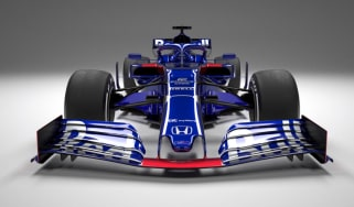 Toro Rosso STR14 F1 2019 car launch
